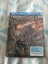 Terminator Salvation BluRay Steelbook-Directors Cut-Reg Free- Swedish import-New