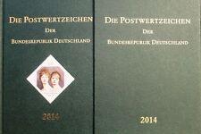 BRD GERMANY 2014 Jahrgang Postwertzeichen Complete Year Set incl. S/S MNH Folder