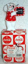 Coca Cola Coke Polar Bear Always A Teacher Christmas Ornament