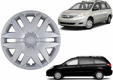 "(1) 16"" Replacement Hubcap For 2004-2010 Toyota Sienna 41616S New Free Shipping"