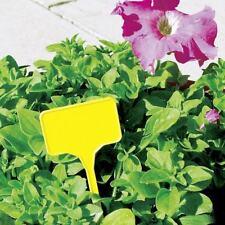 Pflanzenschild gelb 10 Stk.