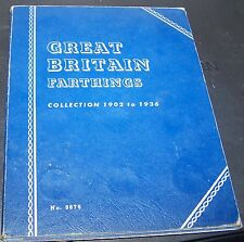 GREAT BRITAIN FARTHINGS COLLECTION 1902 TO 1936