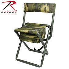Rothco 4578 / 4378 Deluxe Camo Stool w/ Pouch Back