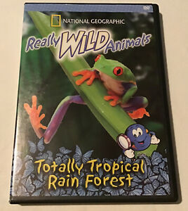 Really Wild Animals - Totally Tropical Rain Forest (DVD, 2005)