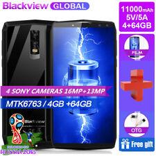 11000mAh Blackview P10000 Pro NFC 4GB+64GB 4G Smartphone Octa Core Teléfono 2SIM