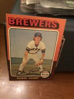 1975 Topps Robin Yount Milwaukee Brewers #223 Baseball Card Mint LOOK!!!!!!