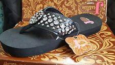 New Women's Justin 5511801 Brooklyn Flip Flops (6-A13) *Justin Boots* size 6