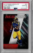 2016 Panini Absolute Todd Gurley II Red Zone PSA 10