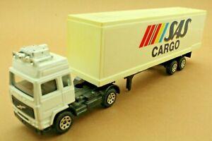 "Camion VOLVO semi-remorque ""SAS CARGO"" - Marque CORGI - Made in GT Britain"