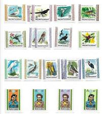Montserrat stamps 1970 Collection of 20 stamps HIGH VALUE! BIRDS