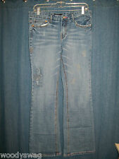 Crest Jeans 9/10 96% Cotton The Collection Inseam 33 inch Waist 32 inch Distress