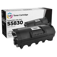 LD Compatible Dell 593-BBYR (593-BBYS / 593-BBYT) Black Toner for Laser S5830dn