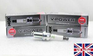 Land Rover Freelander 1.8 Petrol 1997-2005 NGK V-POWER Spark Plugs x4 USA made