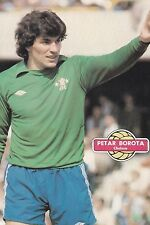 Football Photo PETAR BOROTA Chelsea 1980-81