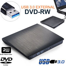 External USB 3.0 Slim Drive DVD RW CD RW Burner Copier Writer Reader US STOCK