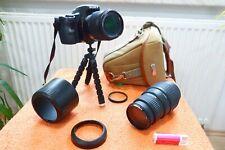 Sony Alpha A37 l 2x Objektiv l EXTRAS NEU l DSLR Spiegelreflex Kamera 16MP l7