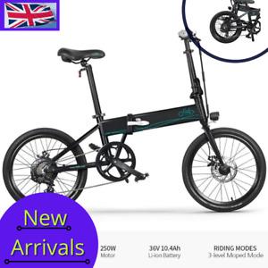 "> FIIDO D4S < E-Bike 250W 10.4Ah 80KM 25KM/H 20"""" Inch Folding Electric Bicycle"
