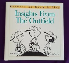 Insights From The Outfield, Charles M Schulz, 1997 Peanuts Snoopy, Charlie Brown