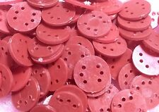 200x Transistor Spacers 1mm Height 9.5mm Diameter Mounting Pad 6-Lead Seperator
