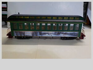 On30 Bachmann Hawthorne Village THOMAS KINKADE'S Christmas Express Passenger Car
