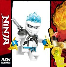 Ninjago White Zane Master of Spinjitzu Custom Lego Mini Figure Lloyd Ninja Toy