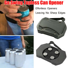 Go Swing Topless Can Opener Bar Tools Safety Easy Manual Beverage Can Opener