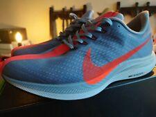 Nike Pegasus 35 Turbo Zoom X Running Shoes Trainers Grey/Red UK 8 EU 42.5 / US 9