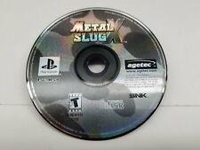 Metal Slug X (Sony Playstation 1, 2001) CD Only Fast Shipping