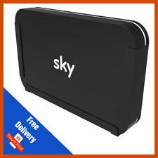 Penn Elcom Wall Bracket Sky Q Box   Black   Sky Q Mounting Bracket
