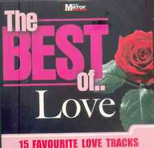 BEST OF LOVE: 15 FAVOURITE LOVE TRACKS: PROMO CD - MOZART BEETHOVEN PLATTERS ETC