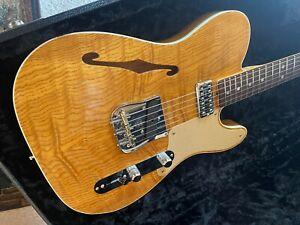 Fender Custom Shop Telecaster Artisan Wildwood 10 Caballo Tono Ligero & Extras