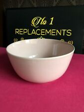 "Denby Flavours Pink Salad Serving Vegetable Bowl / Dish 9.5"" x 4.5"""