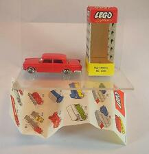 Lego 1/87 No.605 Fiat 1500 L rot in O-Pappbox ex Shop Stock #497