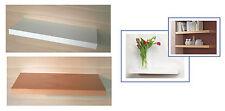 JUMBO BOARD Regal weiß oder Buche Furnier / 60x25 cm / Aufsteckregal Wandboard
