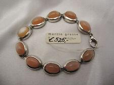 Armband aus Sterlingsilber mit Mondsteinen Martin Grosse aus Juwelierauflösung