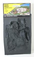 Woodland Scenics All scales C1241 Layered Rock Mold New FNQHobbys