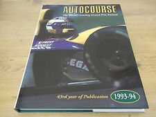 AUTOCOURSE. 1993-94. THE WORLD'S LEADING GRAND PRIX ANNUAL FORMULA ONE