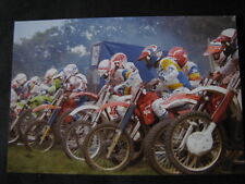 Photo Start 125cc Int. during GP 500cc Motocross Heerlen (NED) '87