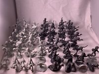200 Assted Plastic Figures - Zombies, Army Men, Cowboys, Indians, Dinosaurs etc