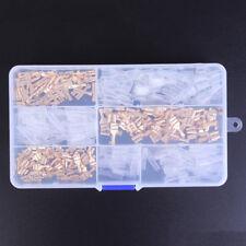 150X Female&Male Spade Connectors Wire Crimp Terminals Set 2.8mm 4.8mm 6.3mmCRIT
