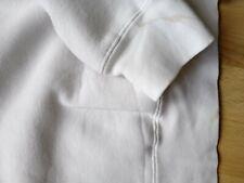 Schott white hoodie Gents medium size vintage REVISED details.