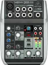 Behringer XENYX Q502usb 5 Input Mixer With USB Audio Interface