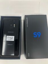 Unlocked Samsung Galaxy S9 Sm-G960U 64Gb (Latest Model) Gsm World Black Phone