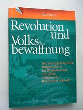Revolution und Volksbewaffnung württembergischen Bürgerwehren 1976 Bewaffnung