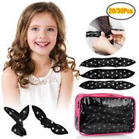 20/30PC Hair Rollers Magic Flexible Soft Pillow Curlers Foam Hair Curlers Sponge