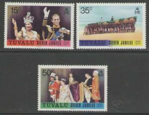 TUVALU SG50/2 1977 SILVER JUBILEE MNH