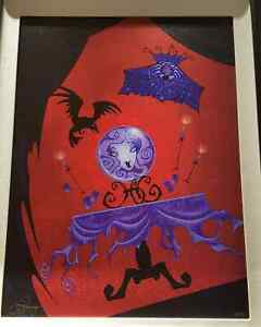 Disney Gallery Haunted Mansion Madame Leota LE 95 giclee Jimmy Pickering