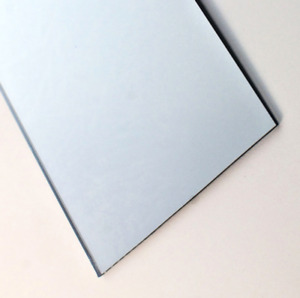 Acrylic Silver Mirror 297mm x 470mm x 3mm thickness