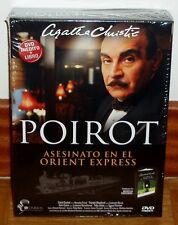 POIROT-MORD IN / AUF / IM DER / DEN ORIENT EXPRESS-AGATHA CHRISTIE-DVD+BUCH