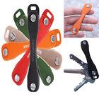 Portable Pocket Smart Holder Organizer Key Clip Hard Oxide Aluminum Folder Chain